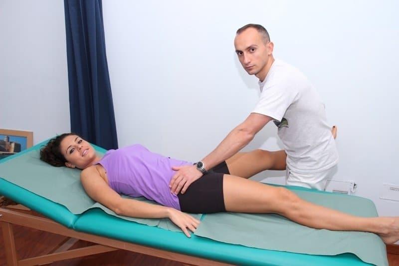 Bewegung, Fraktur, Bruch, Hüfte, Knochen, gebrochen, Läsion, Verletzung, Schmerzen, passive, Diagnose, Test