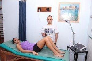 Ultraschalltherapie, Rücken, Becken, Knie, Lumbalgie, Rückenschmerzen, Physiotherapie, Rehabilitation, Sehnenentzündung, Tendinitis, Entzündung, Schmerz