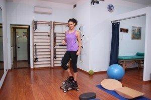 Gymnastik, Übungen für die untere Gliedmaße, Knie, Stärkung, Dehnung, Stretching, Haltung
