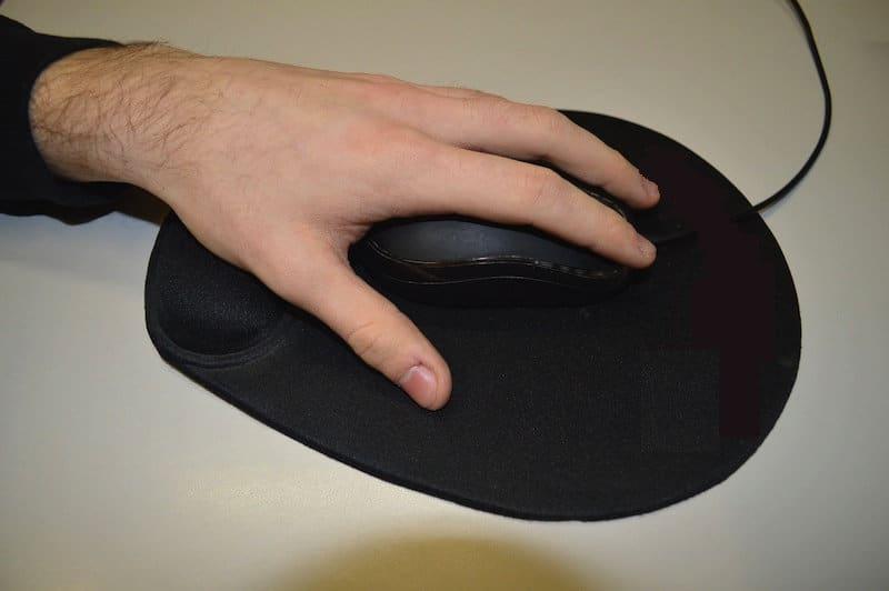 Mousepad,Erhöhung,Handgelenk,Auflage,Hand,ergonomisch
